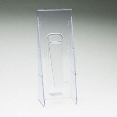 Deflect-o - stand tall pocket, 4-9/16w x 2-3/4d x 11-3/4h, clear, sold as 1 ea