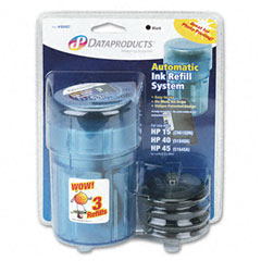 Dataproducts 60407 60407 Compatible Ink Refill Kit, Black
