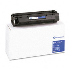 Dataproducts DPC15AP Dpc15Ap Compatible Remanufactured Toner, 2500 Page-Yield, Black