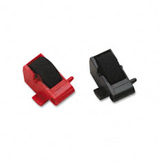 Dataproducts - r14772 compatible ink rollers, black/red, 2/pack, sold as 1 pk