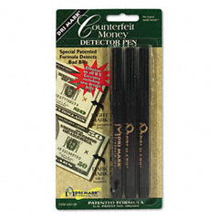Dri-mark - smart money counterfeit bill detector pen for use w/u.s. currency, 3/pack, sold as 1 pk