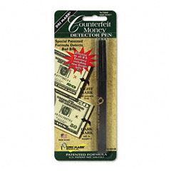 Dri-mark - smart money counterfeit bill detector pen for use w/u.s. currency, sold as 1 ea