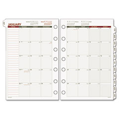 Day runner - express recycled monthly planning pages , 8-1/2 x 11, sold as 1 ea