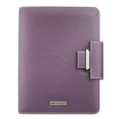 Day runner - express terramo refillable planner, 5-1/2 x 8-1/2, eggplant, sold as 1 ea