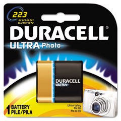 Duracell - ultra high power lithium battery, 223, 6v, sold as 1 ea