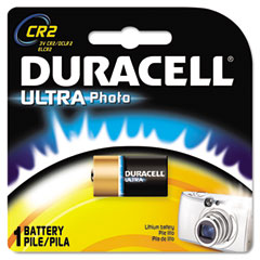 Duracell - ultra high power lithium battery, cr2, 3v, sold as 1 ea