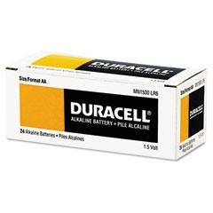 Duracell - coppertop alkaline batteries, aa, 24/box, sold as 1 bx