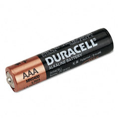 Duracell - coppertop alkaline batteries, reclosable, aaa, 20/pack, sold as 1 pk