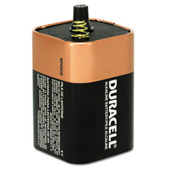 Duracell - coppertop alkaline lantern battery, 6v, sold as 1 ea