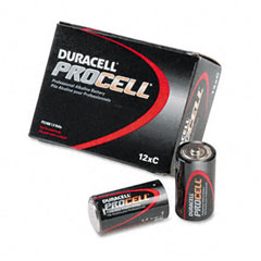 Duracell - procell alkaline battery, c, 12/box, sold as 1 pk