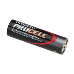 Duracell - procell alkaline battery, aa, 24/box, sold as 1 bx