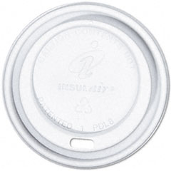 DIXIE FOOD SERVICE Dixie Dome Cup Lids, Fits 8-oz. Cups, White, 1000/Carton
