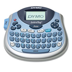 Dymo - letratag plus personal label maker, 2 lines, 6-7/10w x 2-4/5d x 5-7/10h, sold as 1 ea