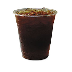 Eco-products - greenstripe renewable resource compostable cold drink cups, 12 oz, clr, 50/pack, sold as 1 pk