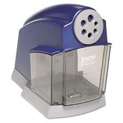 X-acto - school pro desktop electric pencil sharpener, blue/gray, sold as 1 ea