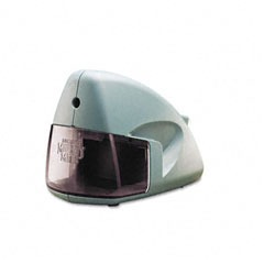 X-acto - mighty mite desktop electric pencil sharpener, mineral green, sold as 1 ea