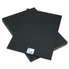 Elmer's - cfc-free polystyrene foam board, 20 x 30, black surface and core, 10/carton, sold as 1 ct