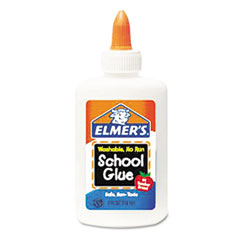 Elmer's - washable school glue, 4 oz, liquid, sold as 1 ea