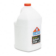 Elmer's - washable school glue, 1 gal, liquid, sold as 1 ea