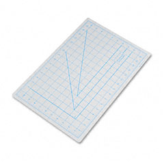 X-acto - self-healing cutting mat, nonslip bottom, 1-inch grid, 12 x 18, gray, sold as 1 ea