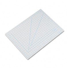 X-acto - self-healing cutting mat, nonslip bottom, 1-inch grid, 18 x 24, gray, sold as 1 ea