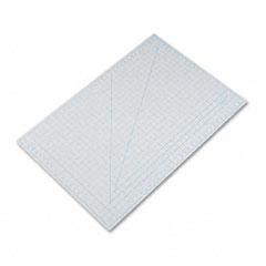 X-acto - self-healing cutting mat, nonslip bottom, 1-inch grid, 24 x 36, gray, sold as 1 ea