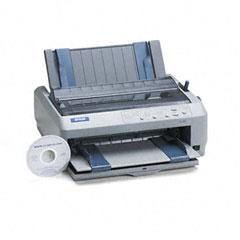 Epson - lq-590 24-pin dot matrix impact printer, sold as 1 ea