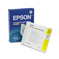 Epson S020122 S020122 Quick-Dry Ink, 2100 Page-Yield, Yellow