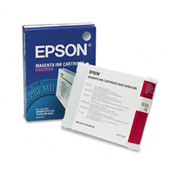 Epson S020126 S020126 Quick-Dry Ink, 2100 Page-Yield, Magenta