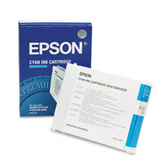 Epson S020130 S020130 Quick-Dry Ink, 2100 Page-Yield, Cyan