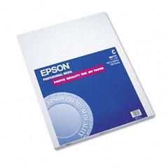Epson - matte presentation paper, 27 lbs., matte, 17 x 22, 100 sheets/pack, sold as 1 pk