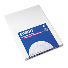 Epson - premium matte presentation paper, 45 lbs., 11-3/4 x 16-1/2, 50 sheets/pack, sold as 1 pk