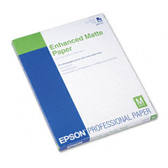 Epson - ultra premium matte presentation paper, 8-1/2 x 11, white, 50/pack, sold as 1 pk