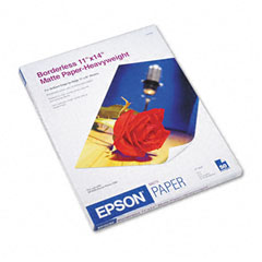 Epson - premium matte presentation paper, 45 lbs., 11 x 14, 50 sheets/pack, sold as 1 pk