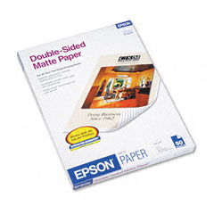 Epson - premium matte presentation paper, 45 lbs., 8-1/2 x 11, 50 sheets/pack, sold as 1 pk