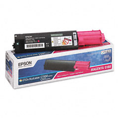 Epson S050188 S050188 Toner, 4000 Page-Yield, Magenta