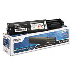 Epson S050190 S050190 Toner, 4000 Page-Yield, Black