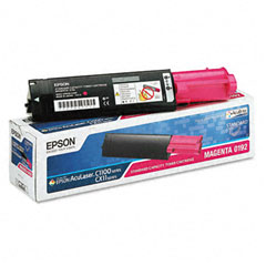 Epson S050192 S050192 Toner, 1500 Page-Yield, Magenta