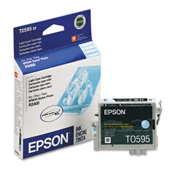 Epson - t059520 ultrachrome k3 ink, 450 page-yield, light cyan, sold as 1 ea
