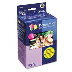 Epson - picturemate 200-series print pack, 4 x 6, 150 sheets/pack, sold as 1 pk