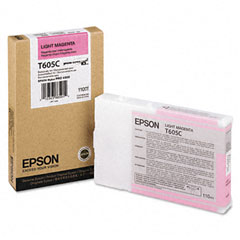 Epson - t605c00 ink, light magenta, sold as 1 ea