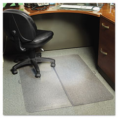 Es robbins - foldable 36x48 rectangle chairmat, task series for carpet up to 1/4-inch, sold as 1 ea