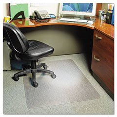 Es robbins - anchorbar 46x60 rectangle chairmat, professional series for carpet up to 3/4-inch, sold as 1 ea