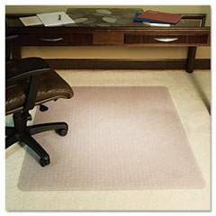 Es robbins - anchorbar 46x60 rect. chairmat, deluxe executive series for carpet up to 1-inch, sold as 1 ea