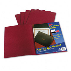 Esselte Pendaflex 29900-585BGD Certificate Holder, 12-1/2 X 9-3/4, Burgundy, 5/Pack