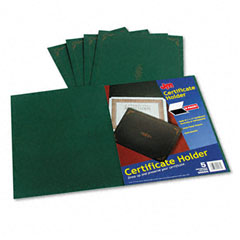 Esselte Pendaflex 29900-605BGD Certificate Holder, 12-1/2 X 9-3/4, Green, 5/Pack