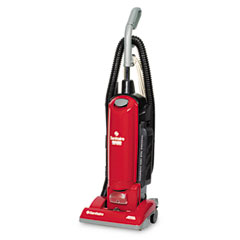 Electrolux sanitaire - true hepa upright commercial vacuum, 17 lbs, red, sold as 1 ea