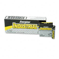 Energizer - industrial alkaline batteries, aaa, 24 batteries/box, sold as 1 bx