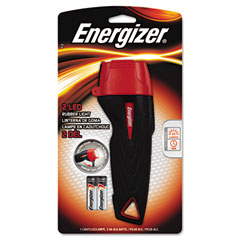 Energizer - rubber flashlight, large, sold as 1 ea