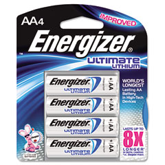 Energizer - e? lithium batteries, aa, 4 batteries/pack, sold as 1 pk